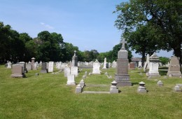 Memorial Day Weekend at St. Mary's Cemetery